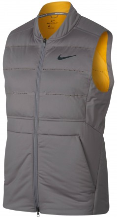 Nike AeroLoft Vest, gunsmoke/yellow