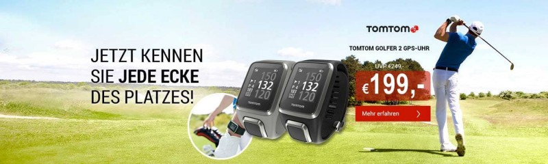 TomTom Golfer 2 GPS-Uhr