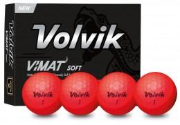 Volvik Vimat Soft Golfbälle, red