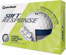 TaylorMade Soft Response Golfbälle, white