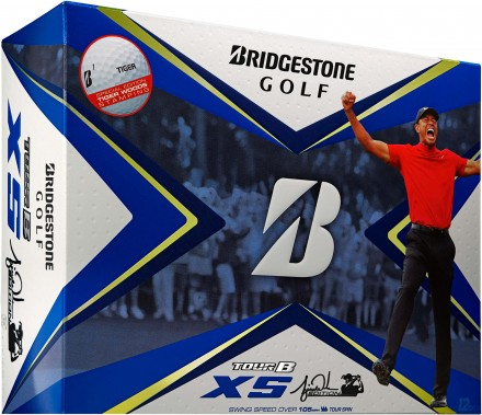 Bridgestone Tour B Tiger XS Golfbälle