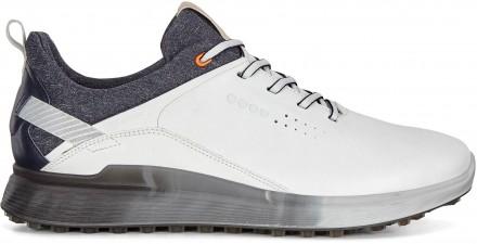 ecco Golf S-Three Gore-Tex Golfschuh, white