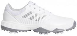adidas JR CP Traxion Golfschuh, white/silver/grey