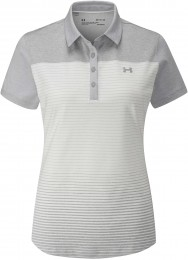 Under Armour Zinger Polo, gray/white