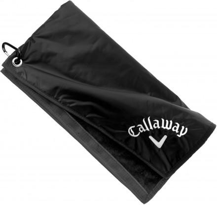 Callaway Rain Hood Towel, black