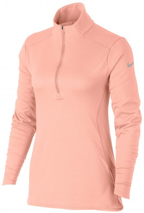 Nike Dry LS Top, pink/silver