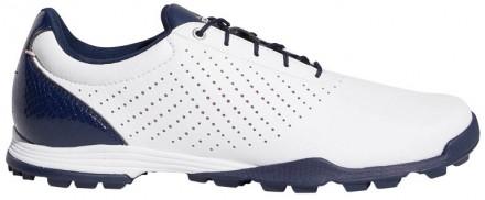 adidas Adipure Golfschuh, white/navy/pink