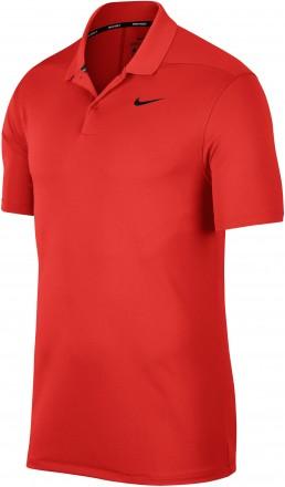 Nike Dri-FIT Victory Polo, red/black
