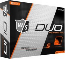 Wilson DUO Professional Golfbälle, orange