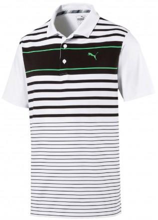 Puma Spotlight Polo, black/green