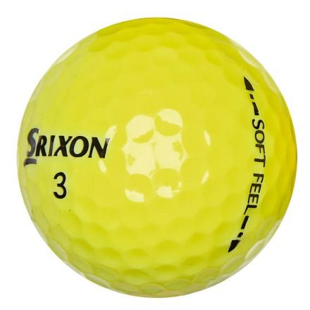 40 Srixon Soft Feel Lakeballs, yellow