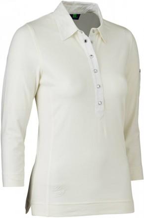 Daily Sports Gina 3/4/S Polo Shirt, 210 ivory