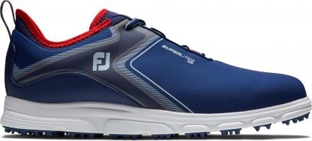 FootJoy Superlites XP Golfschuh, M, navy/white/red