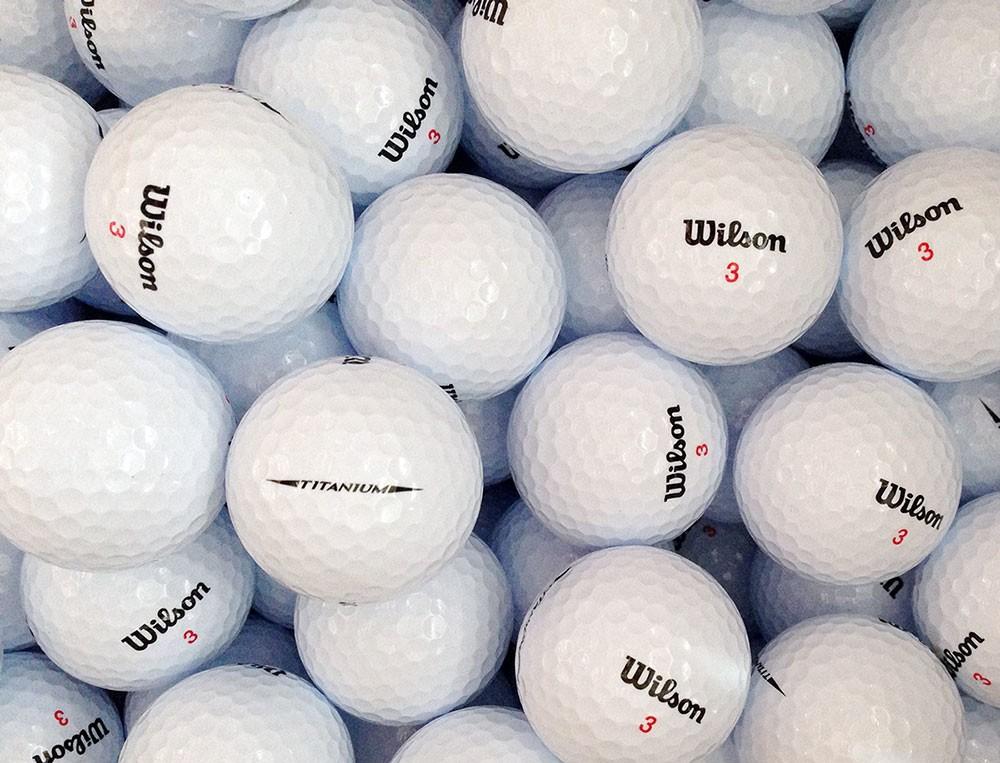 12 (neue) Wilson Mix Golfbälle