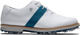 FootJoy Premiere Series Golfschuh, M, white/blue