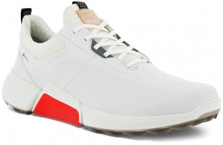 ecco Golf Biom Hybrid 4 GTX Gore-Tex Golfschuh, white