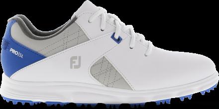 FootJoy FJ Junior Golfschuh, W, white/blue/grey