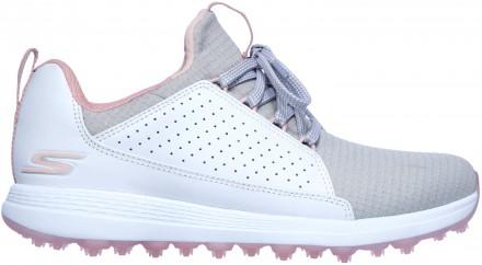 Skechers Max Mojo Golfschuh, white/gray/pink
