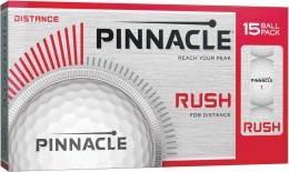 Pinnacle Rush Golfbälle, white