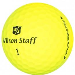 Wilson Staff DUO Professional Golfbälle, yellow