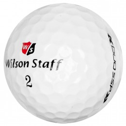 Wilson Staff DUO Soft Spin Golfbälle, white