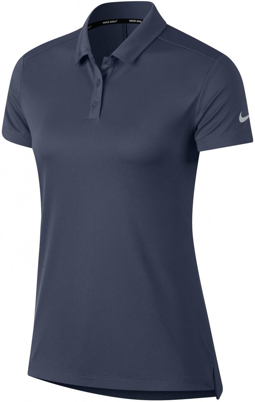 Nike Dry SS Poloshirt, blue/silver