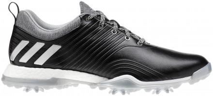adidas Adipower 4orged Golfschuh, black/silver