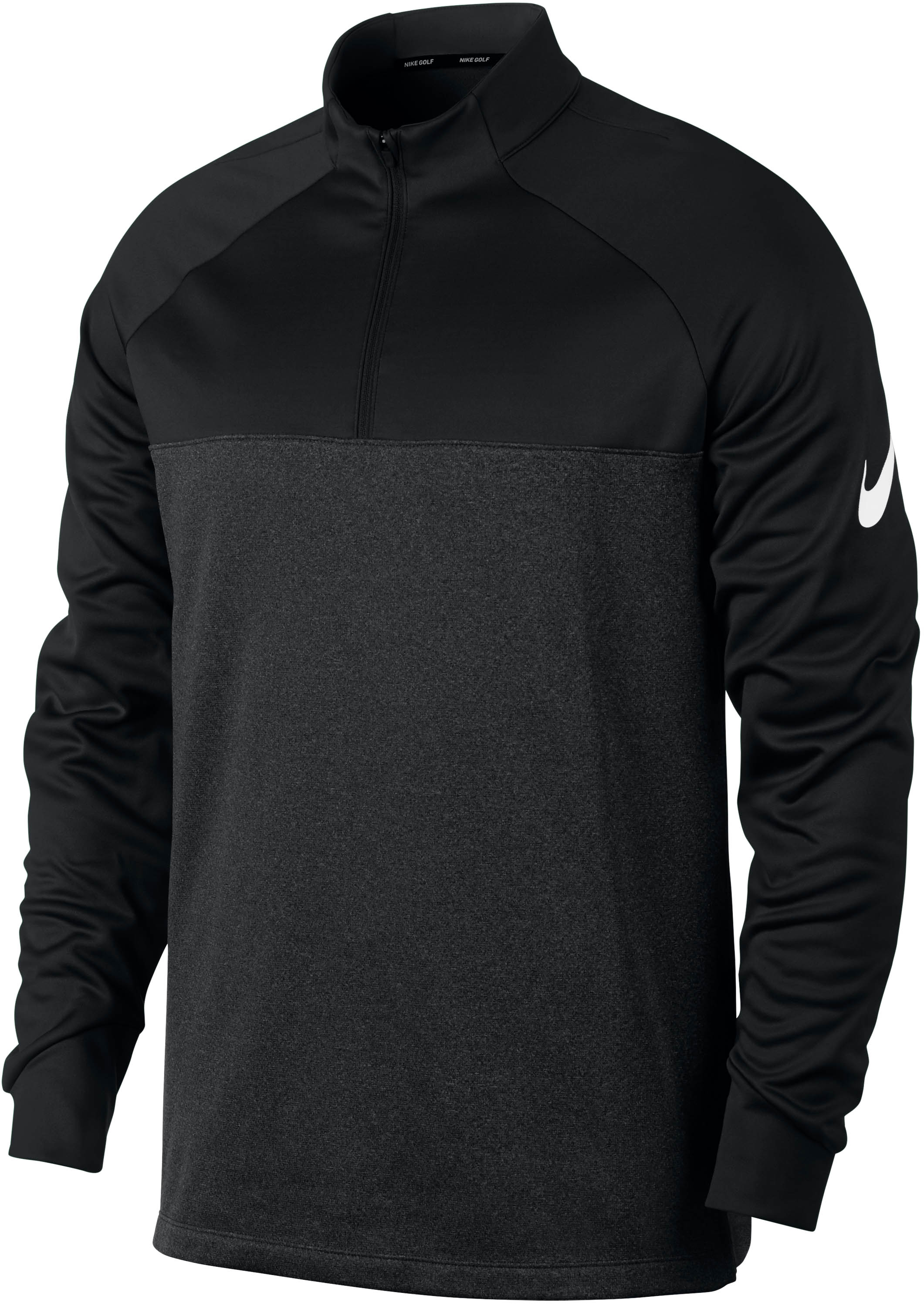 nike therma half zip core pullover pullover f r herren. Black Bedroom Furniture Sets. Home Design Ideas