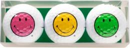 Sportiques 3er Ball-Geschenkset Smiley