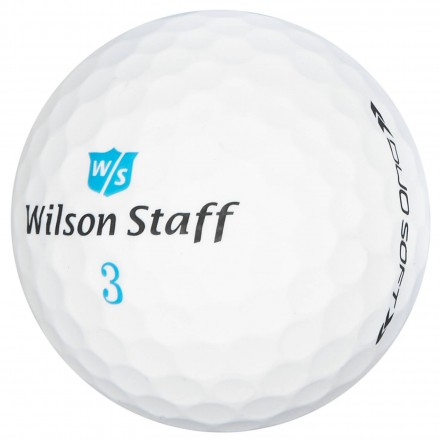 Wilson Staff DUO Soft Women Golfbälle, white
