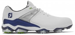 FootJoy Tour X Golfschuh, M, white/navy