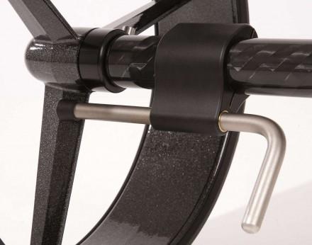 JuStar Mechanische Bremse für Carbon, 3-rädrig, Carbon