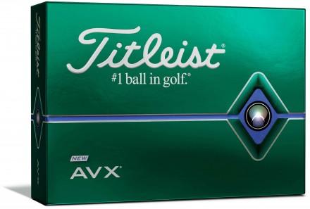 Titleist AVX Golfbälle, white