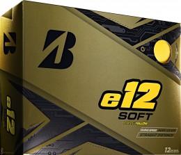 Bridgestone e12 SOFT Golfbälle, yellow