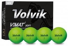 Volvik Vimat Soft Golfbälle, green