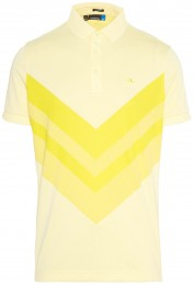 J.Lindeberg Ace Reg Fit TX Jaquard Polo, lime