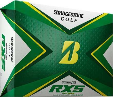 Bridgestone Tour B RXS Golfbälle, yellow