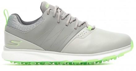 Skechers Mojo Elite Punch Shot Golfschuh, gray/lime