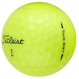25 Titleist Tour Soft Lakeballs, yellow