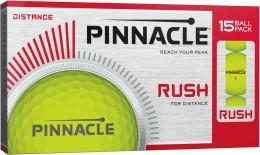 Pinnacle Rush Golfbälle, yellow