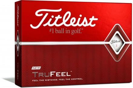 Titleist TruFeel Golfbälle, white