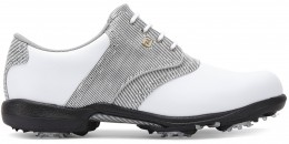 FootJoy DryJoys Golfschuh, M, white/black/white