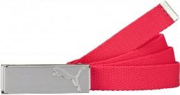Puma Path Web Belt, 04 Rose Red, Onesize