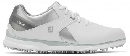 FootJoy Pro/SL Golfschuh, M, white/silver/grey