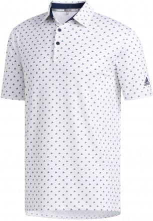 adidas Ultimate Bos Polo, white/navy