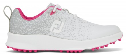 FootJoy FJ Leisure Golfschuh, M, silver/white/fuchsia