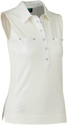 Daily Sports Gina S/L Polo Shirt, 210 ivory