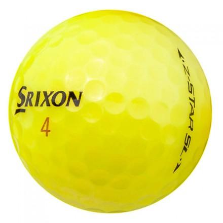 25 Srixon Z-Star SL Lakeballs, yellow