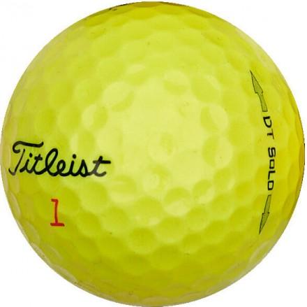 50 Titleist DT SoLo Lakeballs, yellow