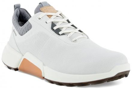 ecco Golf Biom Hybrid 4 Golfschuh, white/silver grey